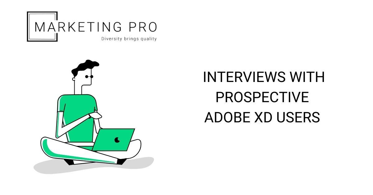 Adobe XD Prospective Users